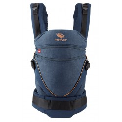 Manduca XT DenimBlue Toffee